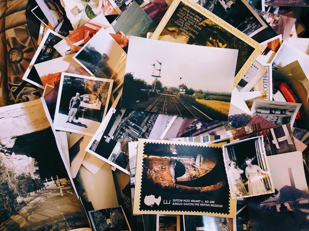 veilles photos empilées