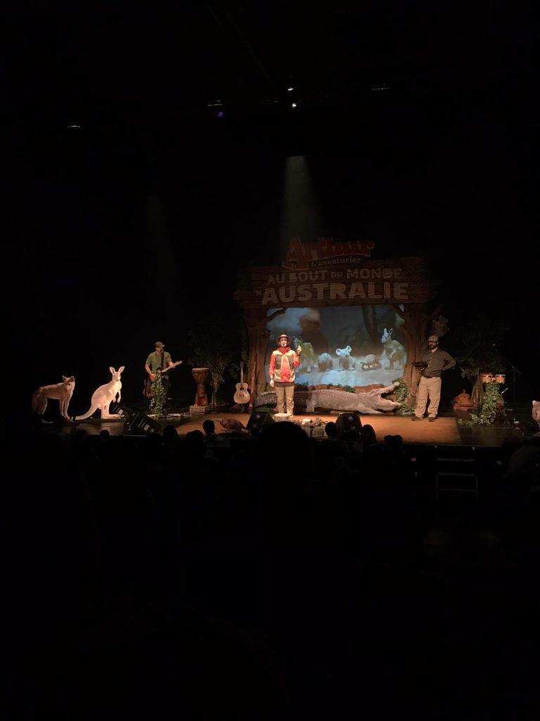 Arthur L'aventurier Australie spectacle