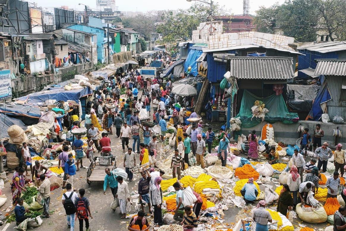 Inde ville pauvreté