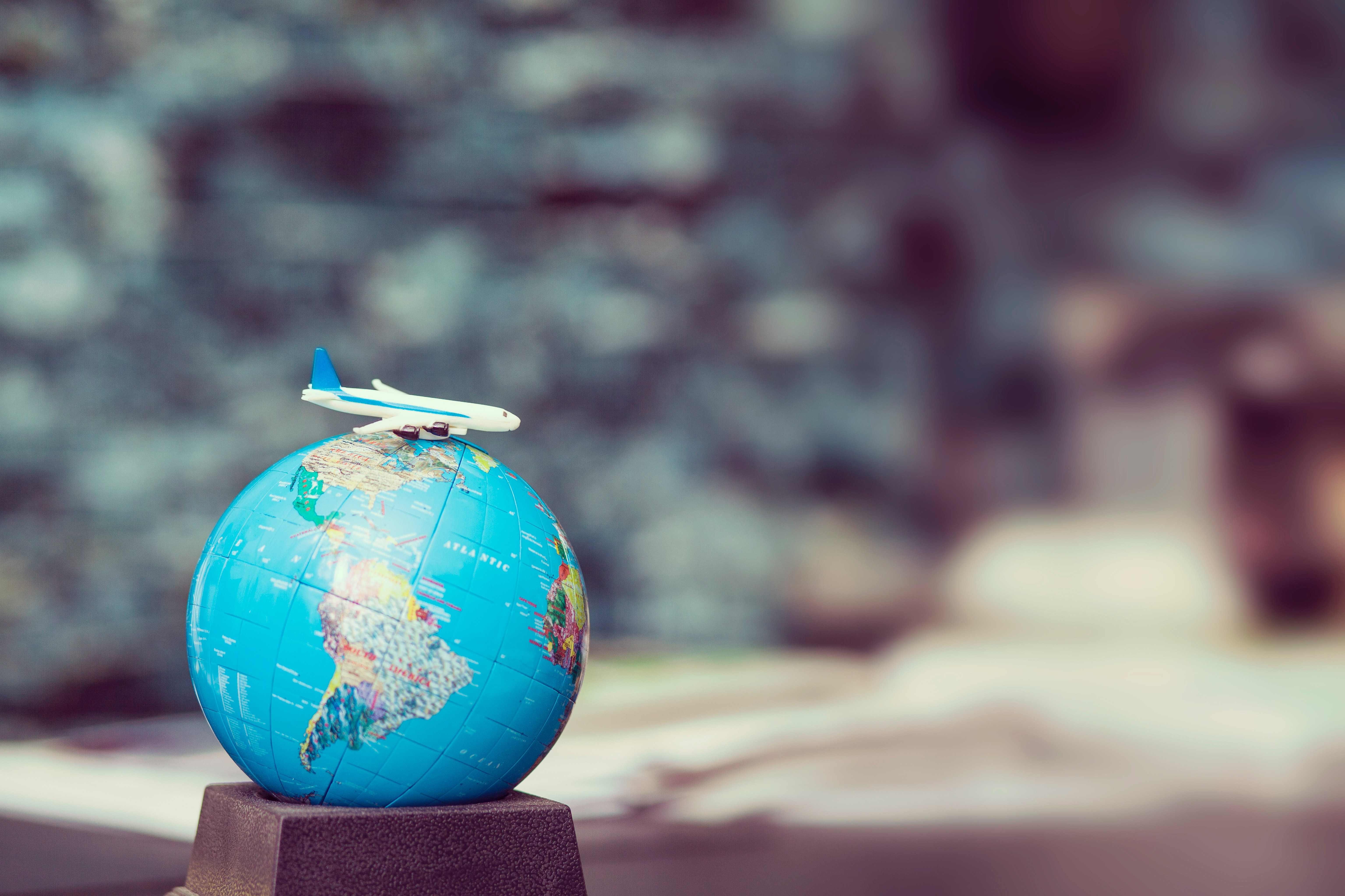 voyage avion terre planète monde