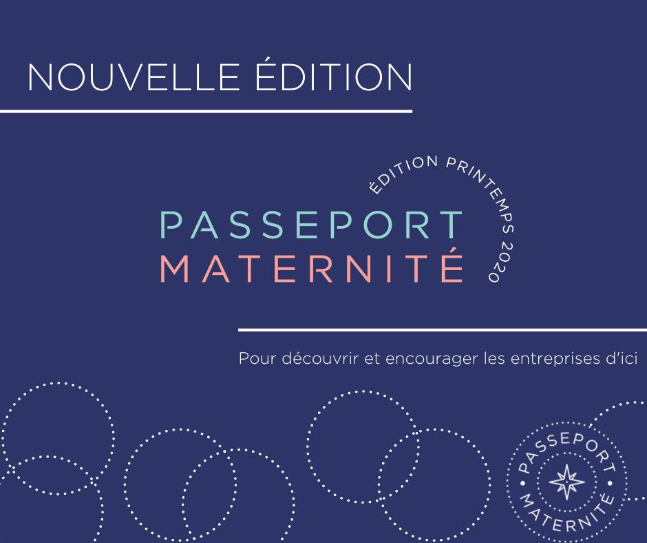 passeport maternité nouvelle édition