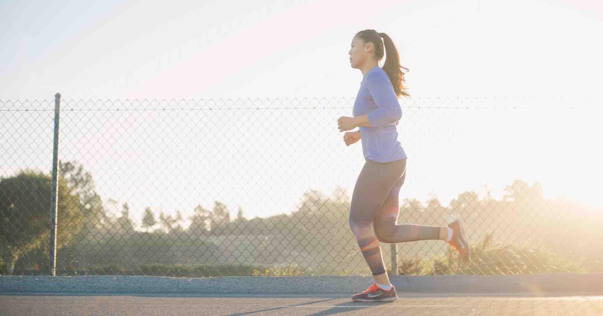 femme course sport