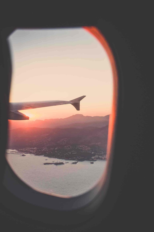 avion ciel voyage paysage