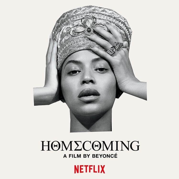 poster beyonce homecoming netflix