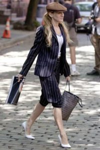 carrie bradshaw look chic
