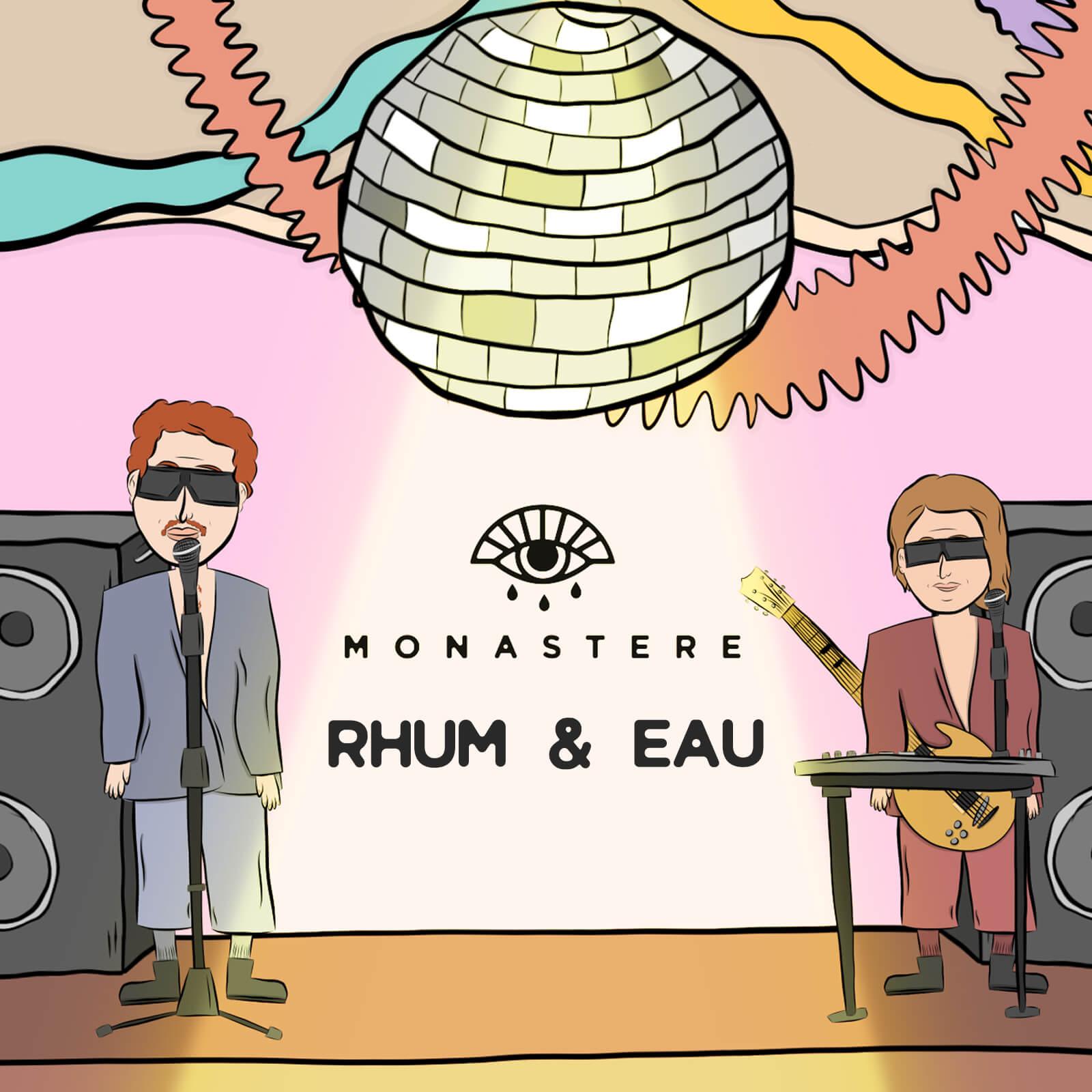 Cover Rhum&Eau nouvelle chanson québécoise