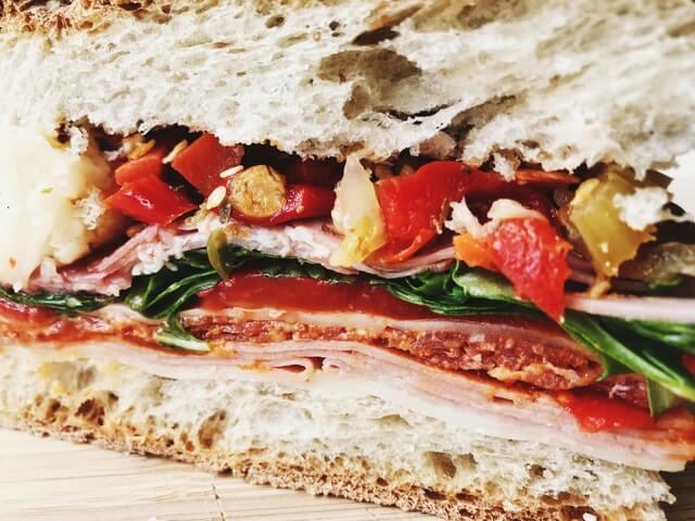sandwich légumes recette bouffe