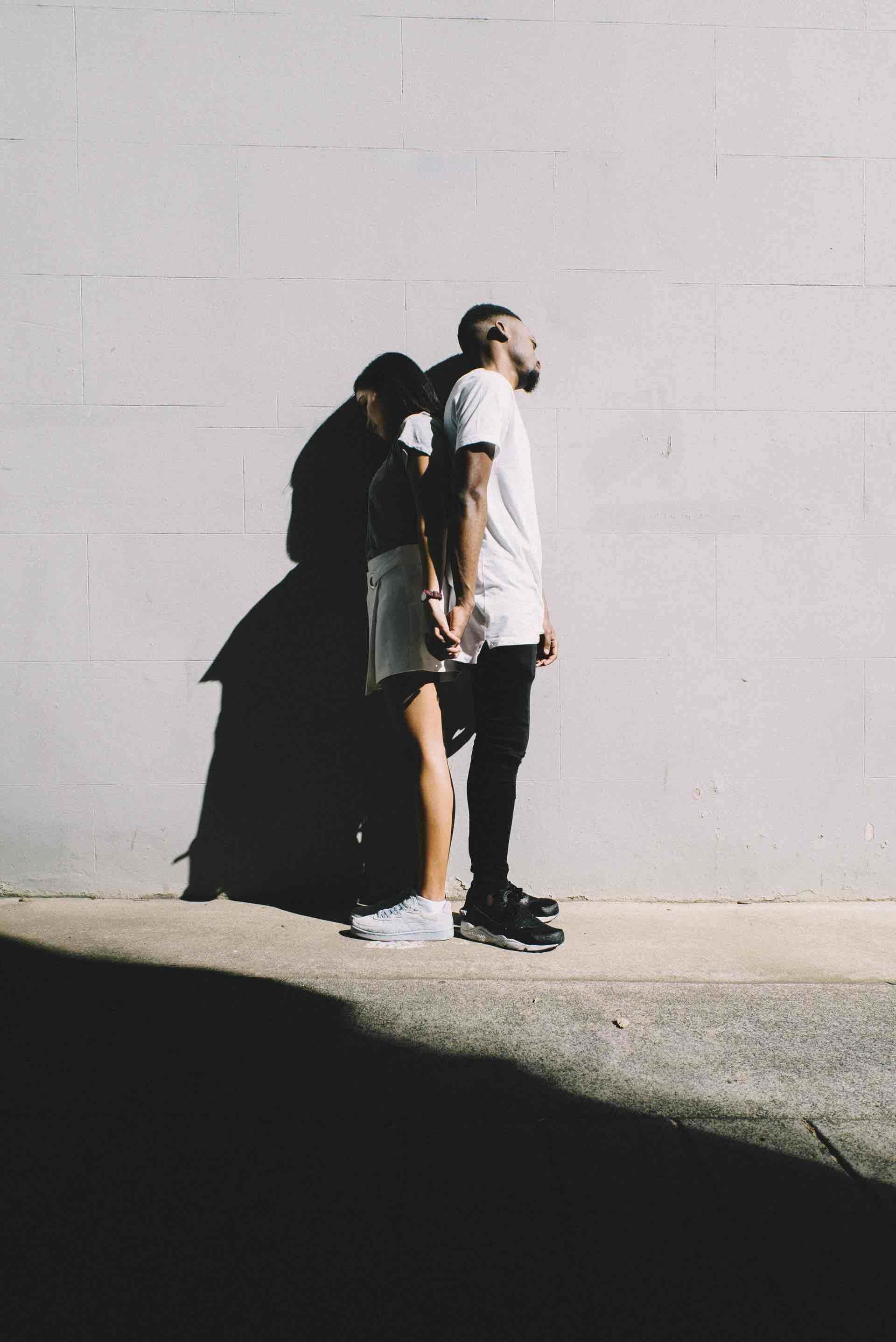 couple dos à dos relation