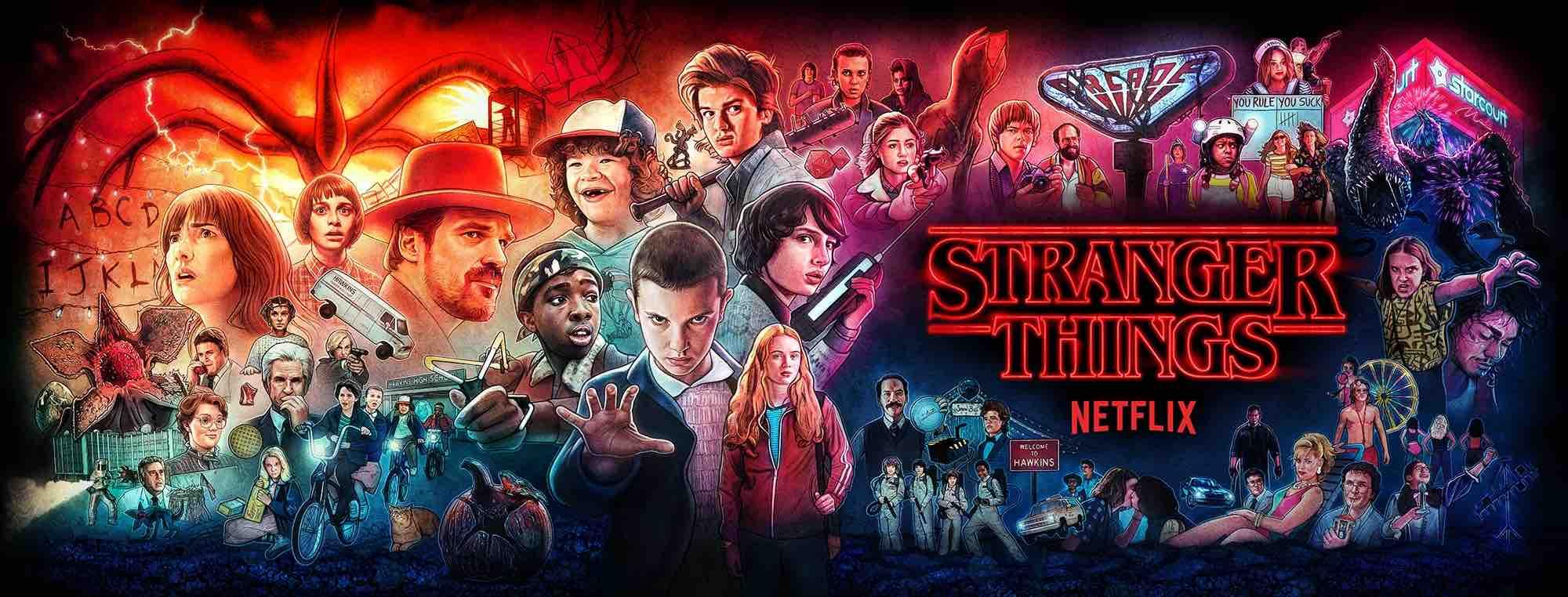 Stranger Things Netflix série