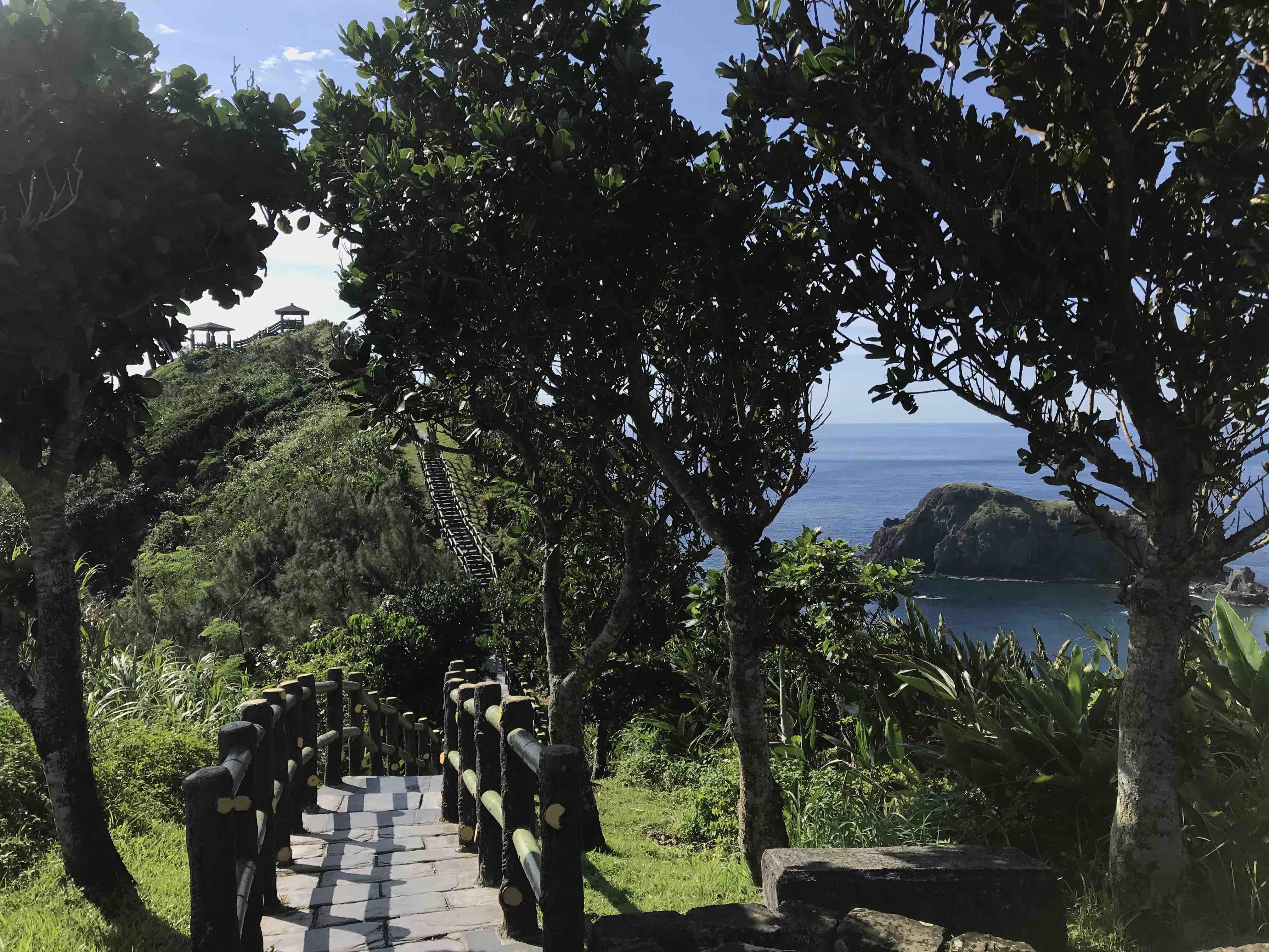 paysage Taiwan mer océan