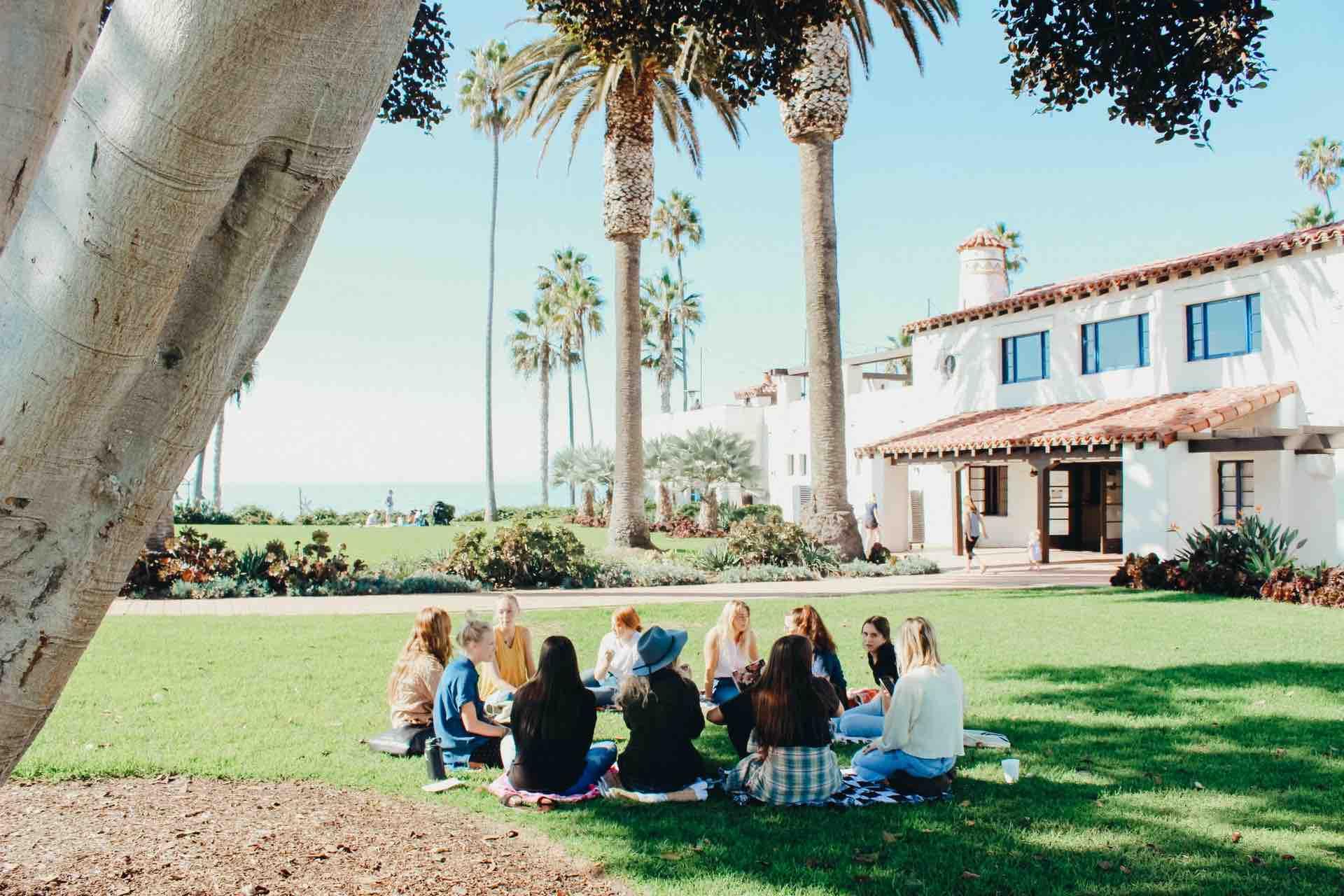 communauté femmes groupe réunion