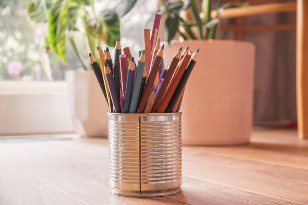 crayons colorier