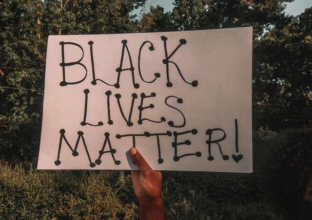 black lives matter racisme protestation