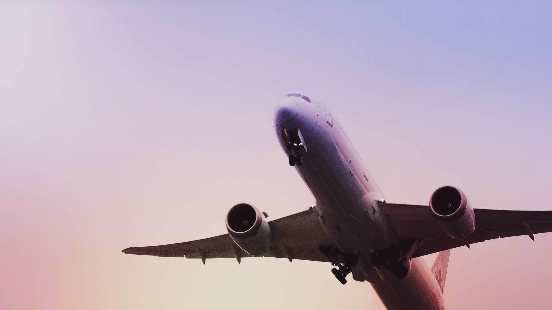 avion vol voyage ciel