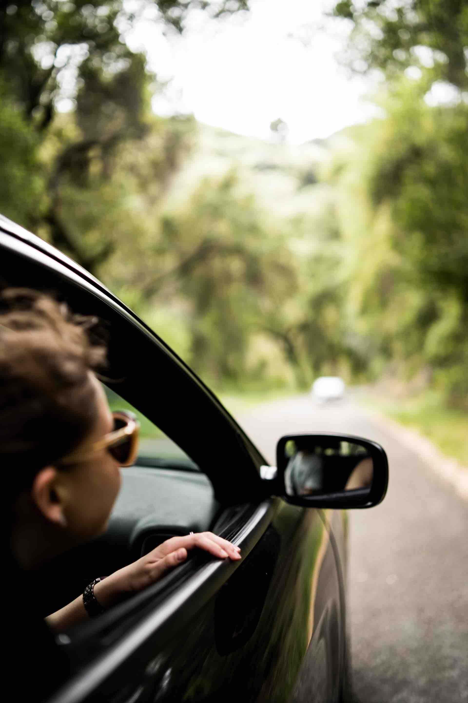 roadtrip auto nature