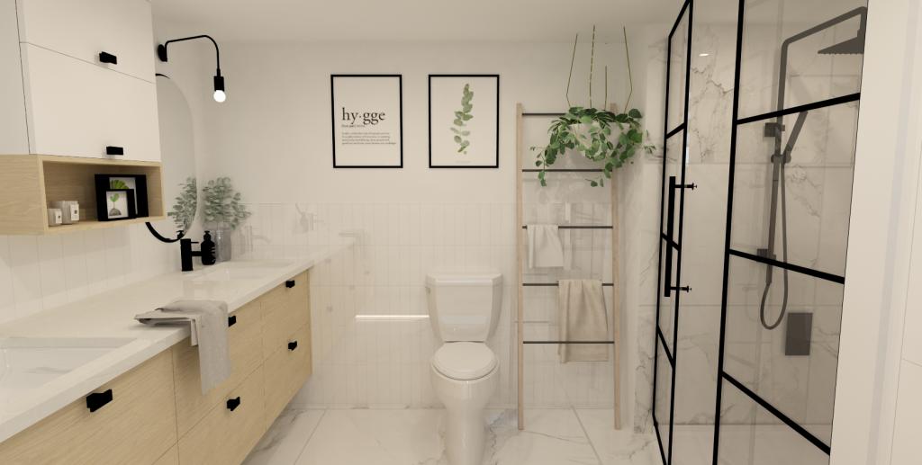 plan 3d camille dg salle de bain armoires cuisine action