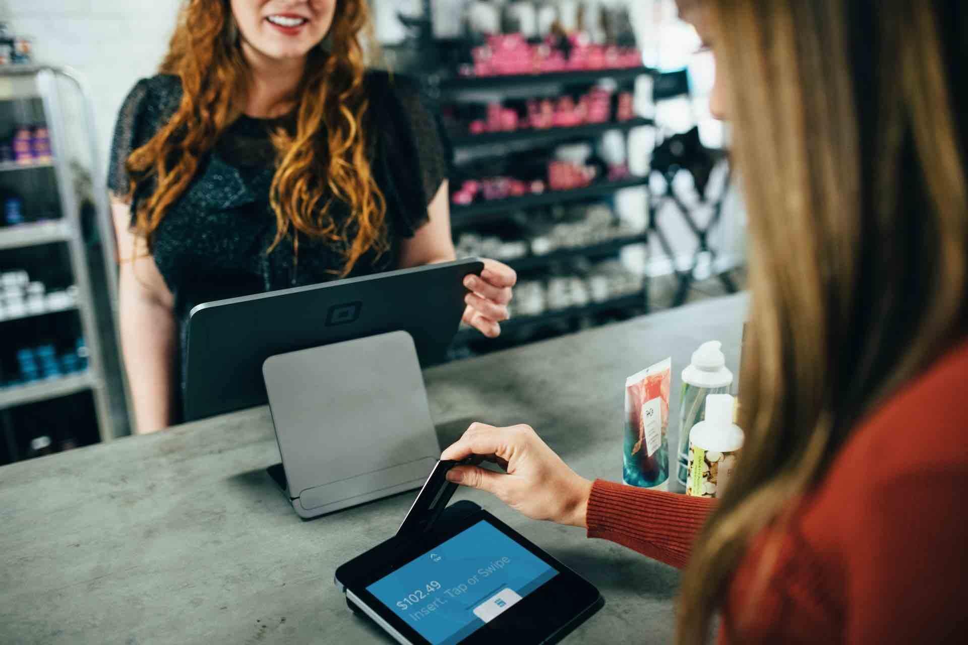 transaction paiement carte commerce achat