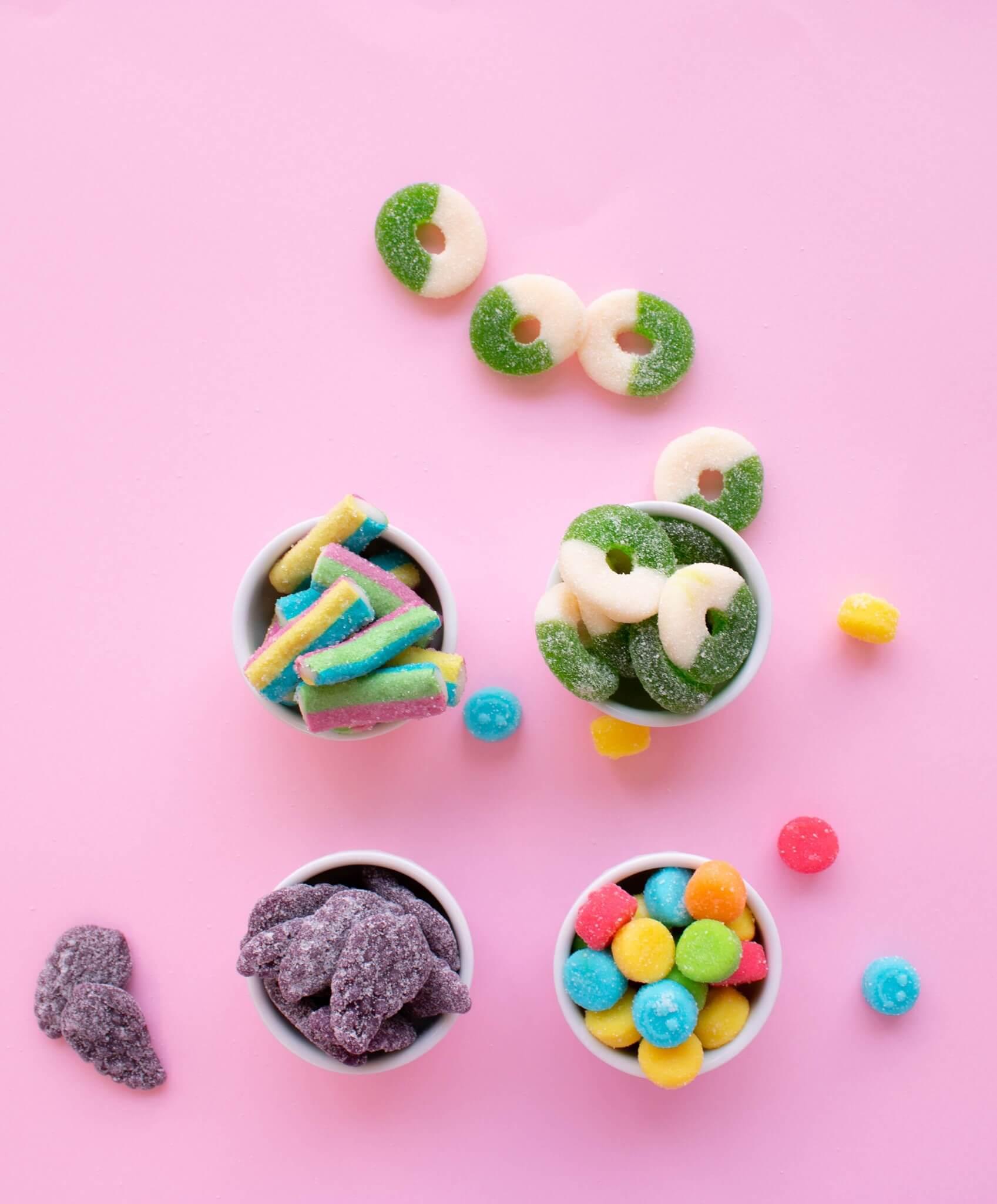 bonbons sucreries sans gluten