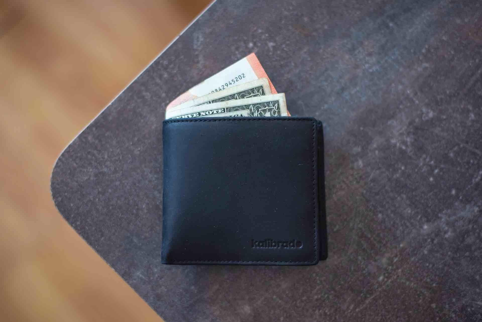 portefeuille argent monnaie