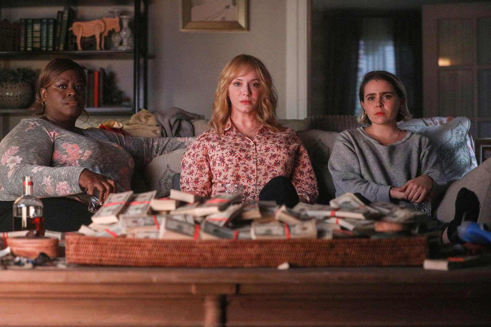 Good Girls série Netflix NBC argent trio