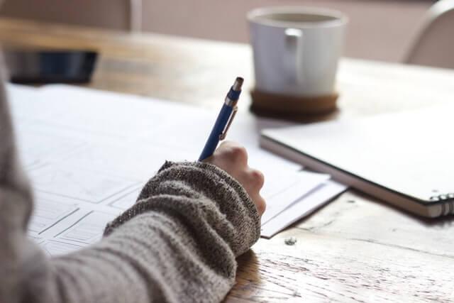 écriture lettre fille pardon