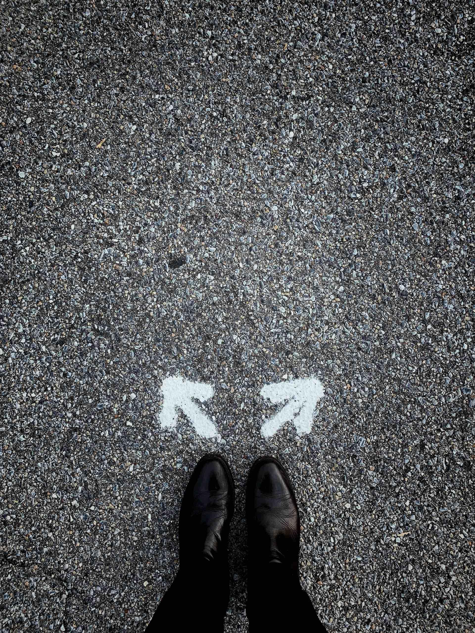 souliers choix décision