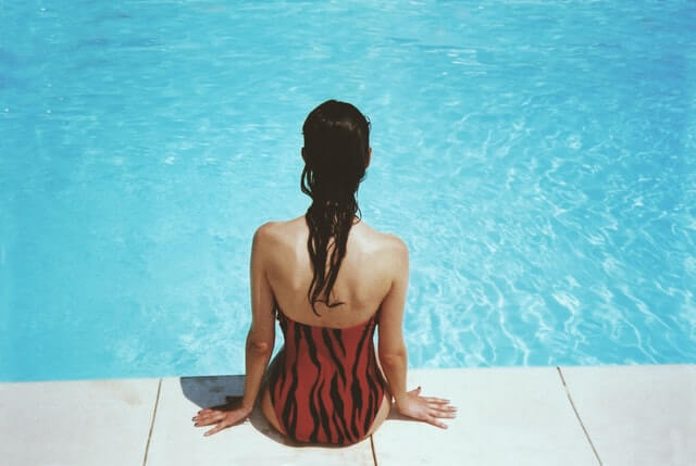 maillot piscine été chaleur