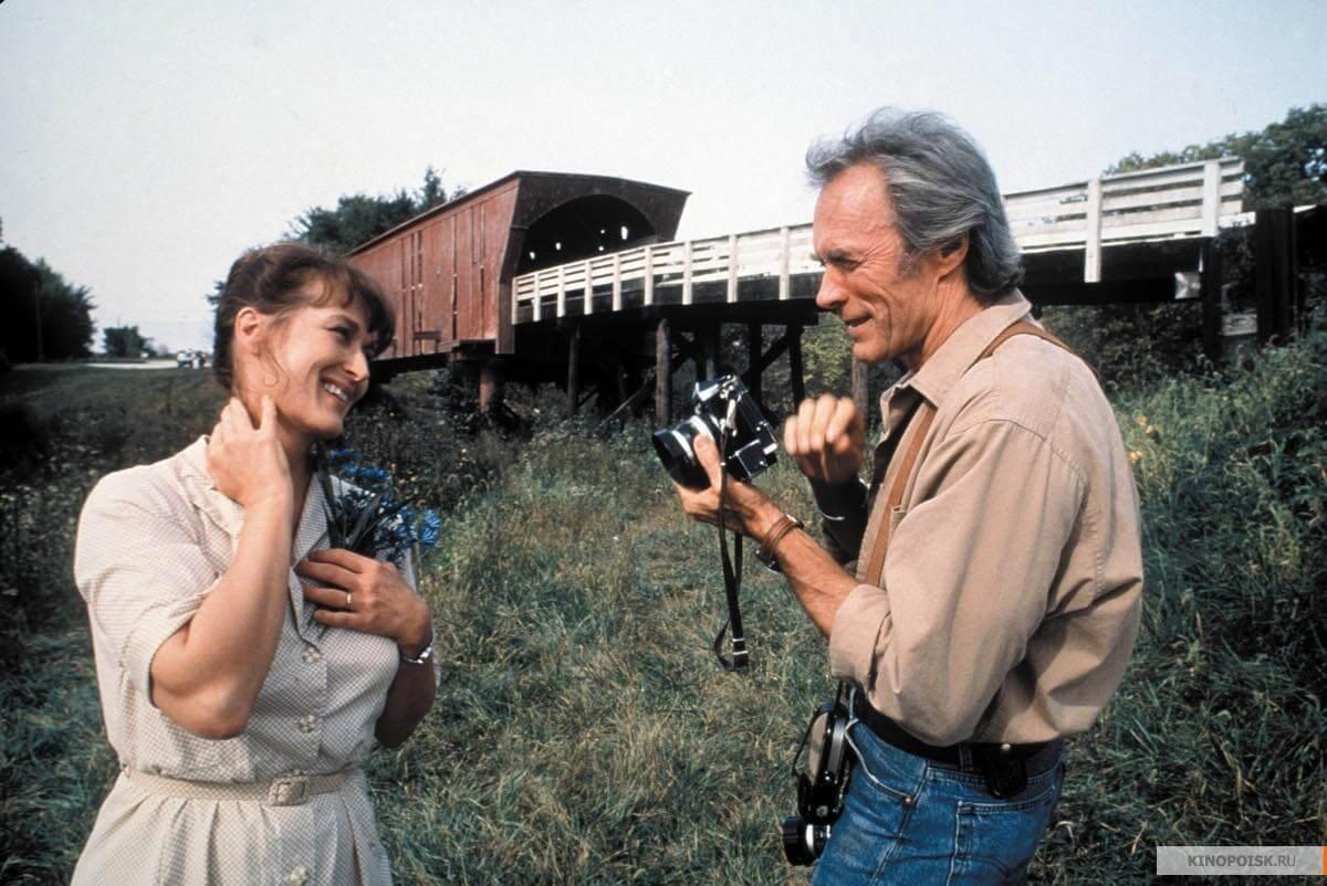 The Bridges of Madison County Clint Eastwood Meryl Streep