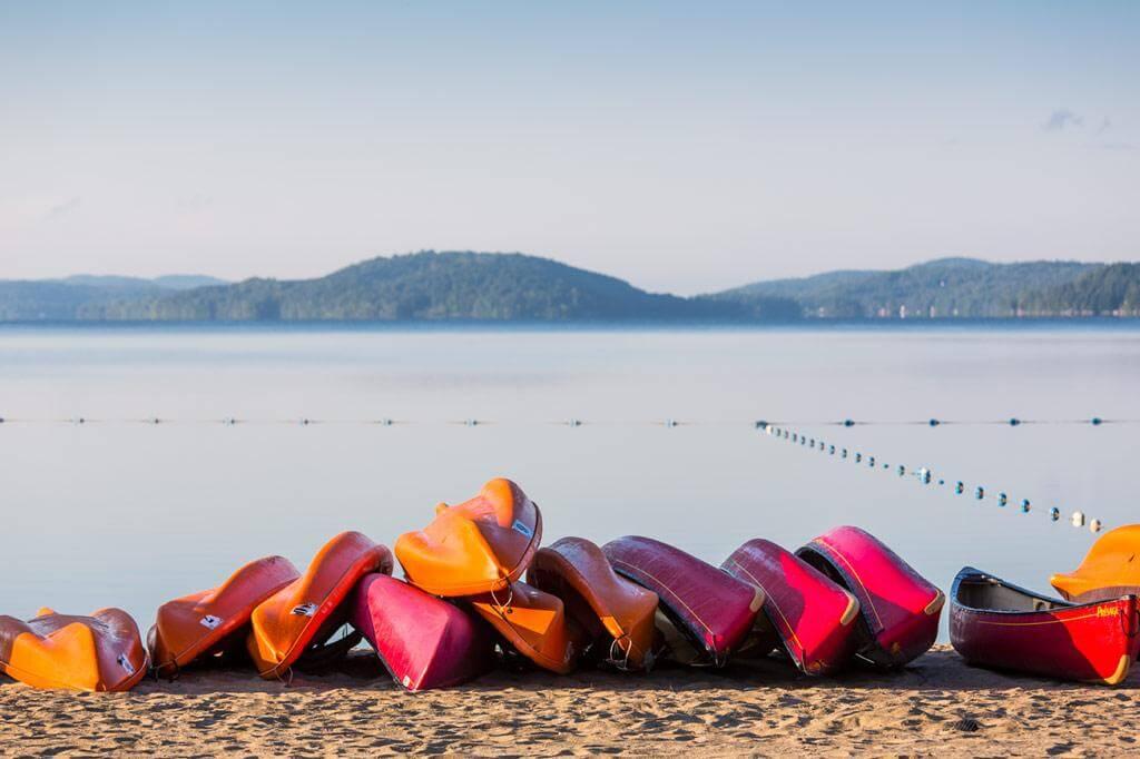 plage kayak canots québec