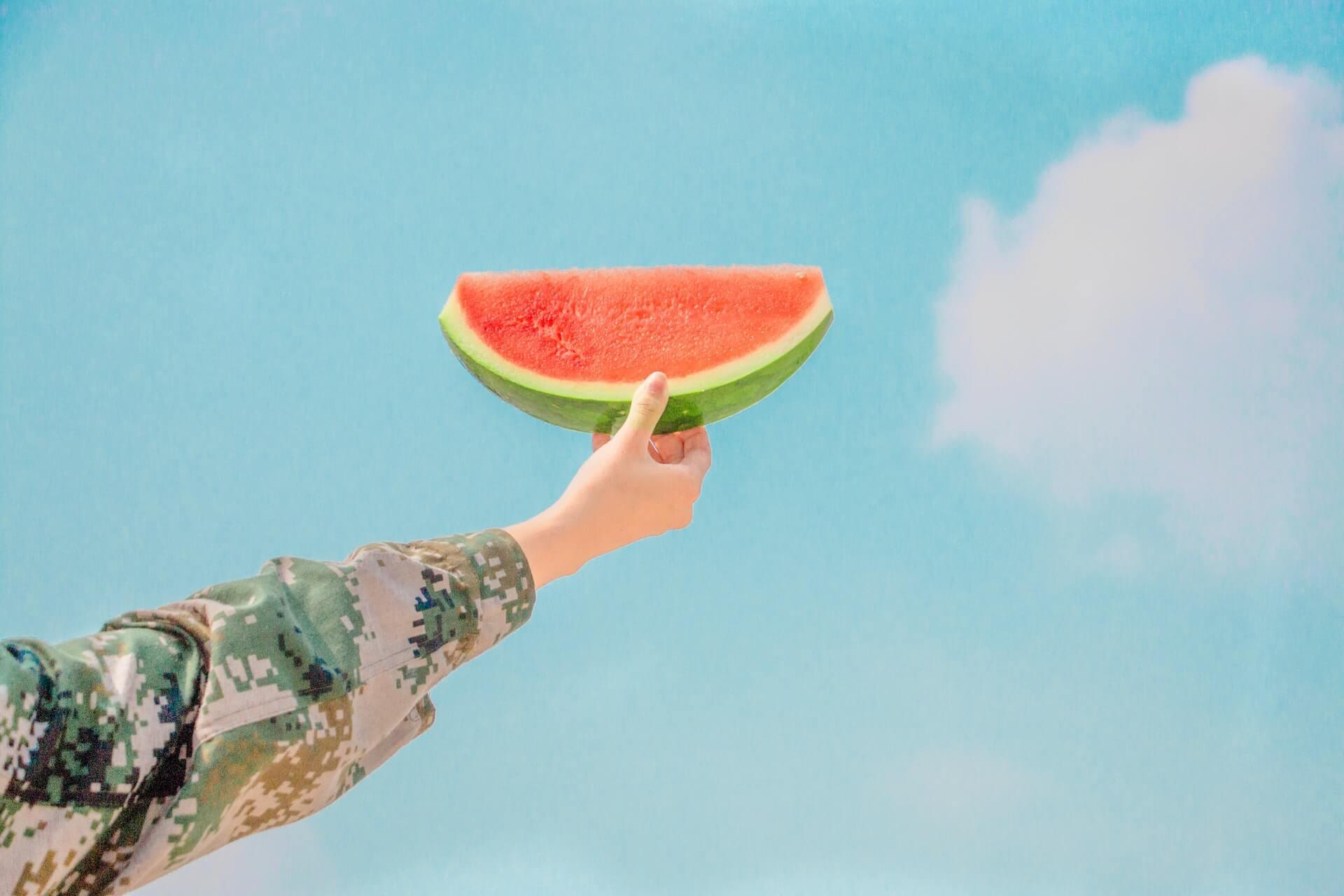 ciel et melon