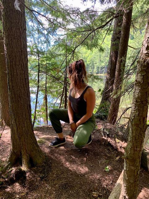 Parc National femme forêt