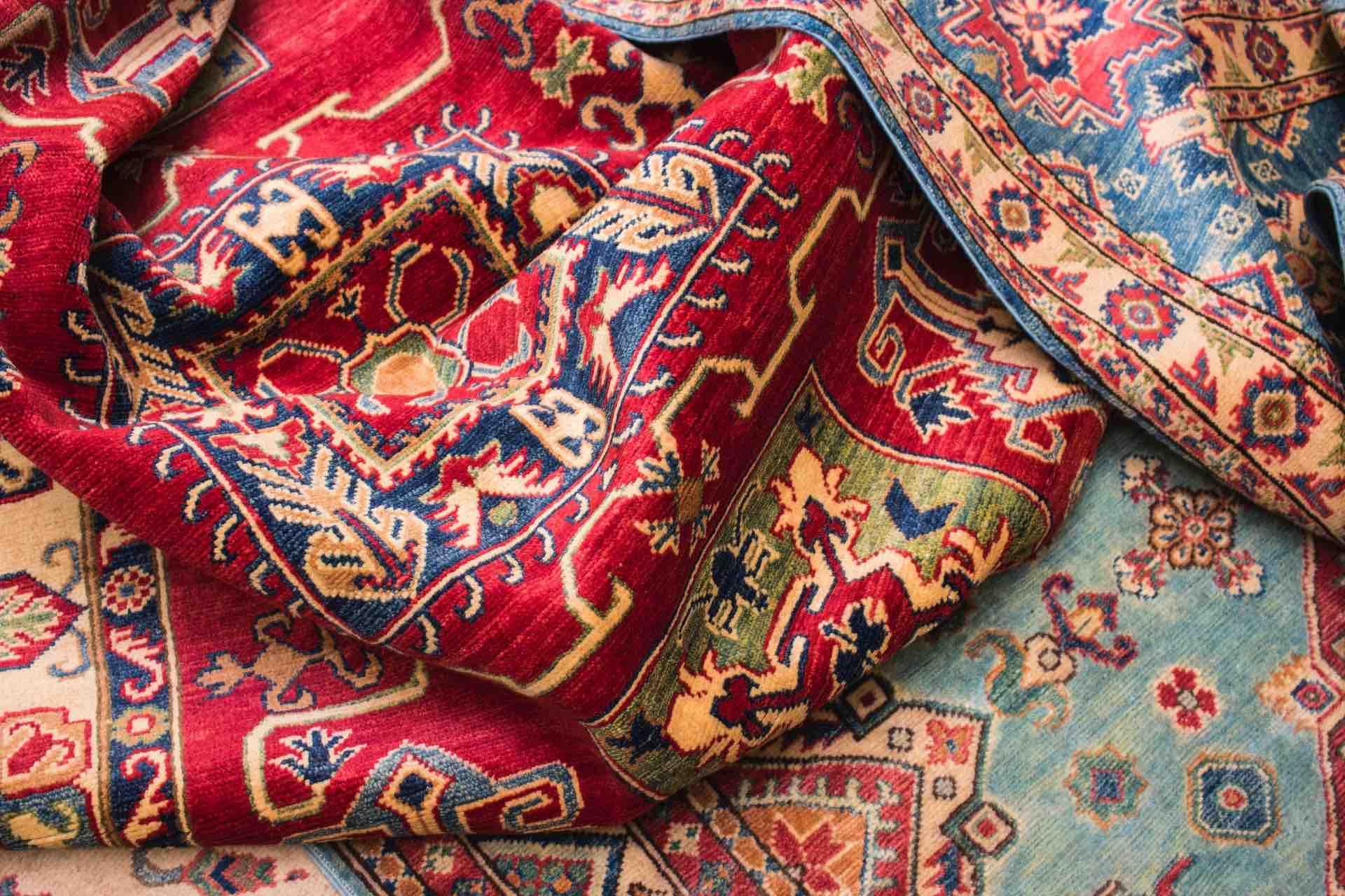 tapis marocain textile motif