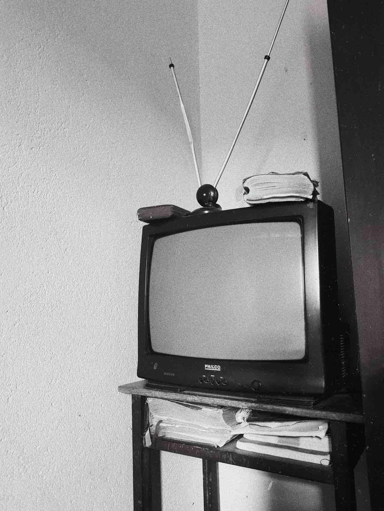 télévision noir et blanc film