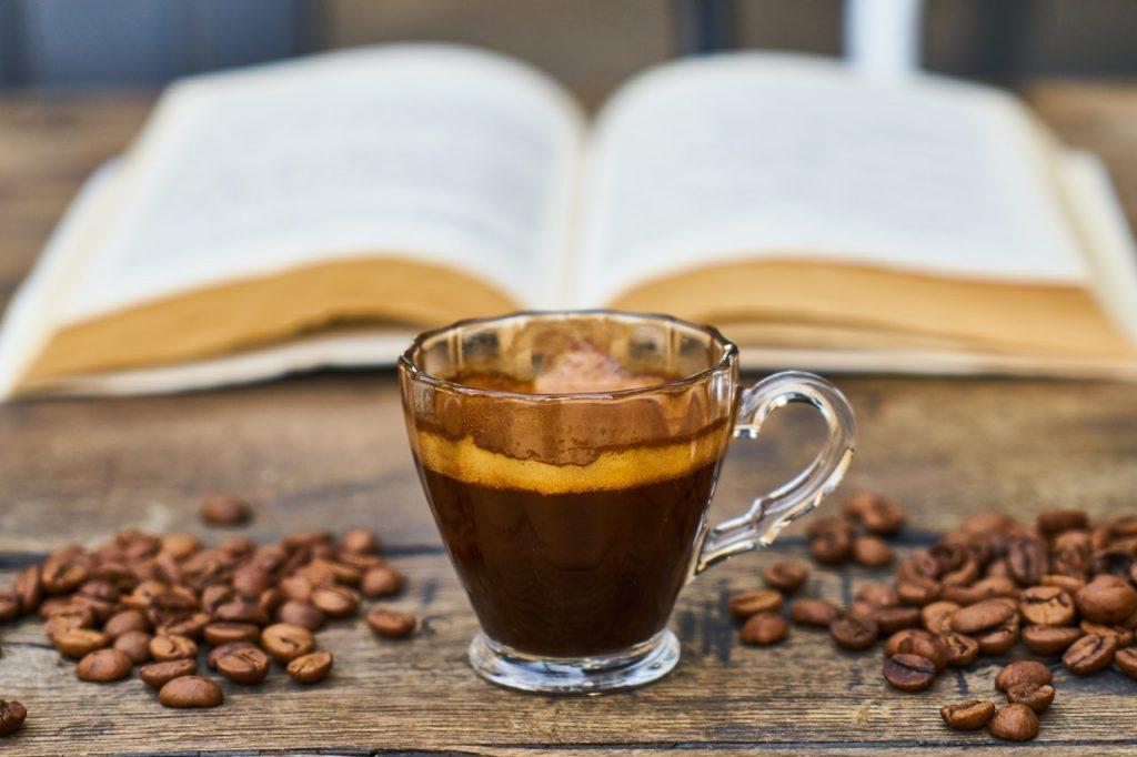 pause café livre lecture