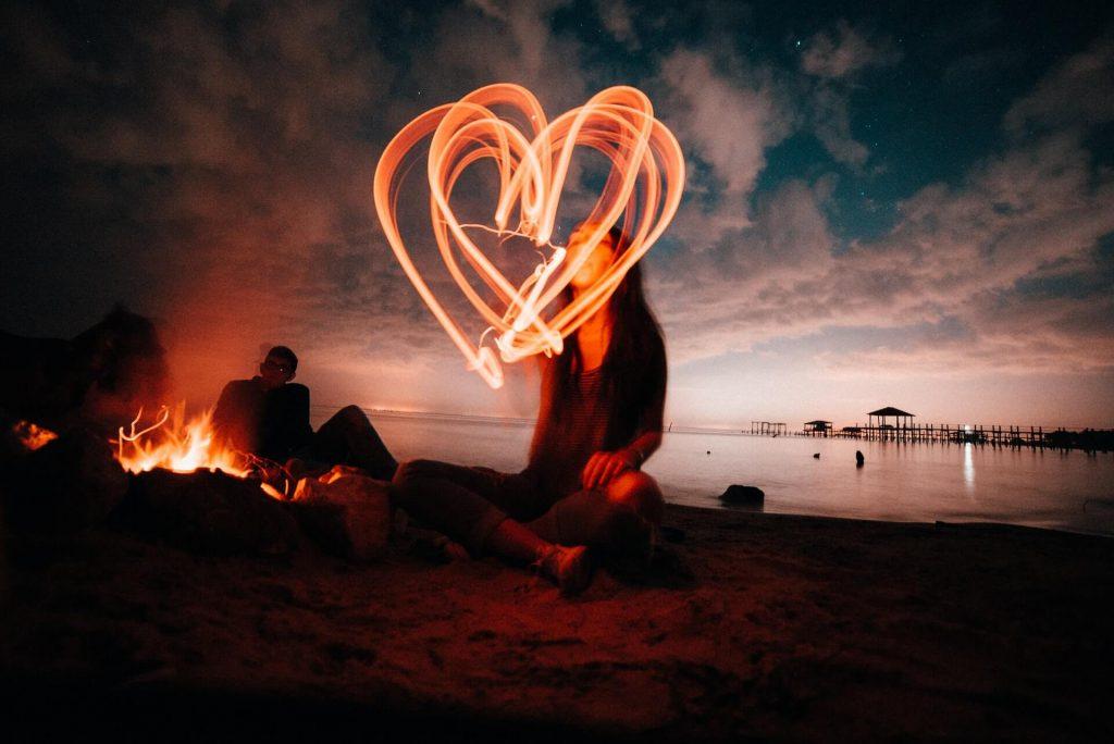 coeur dans la nuit