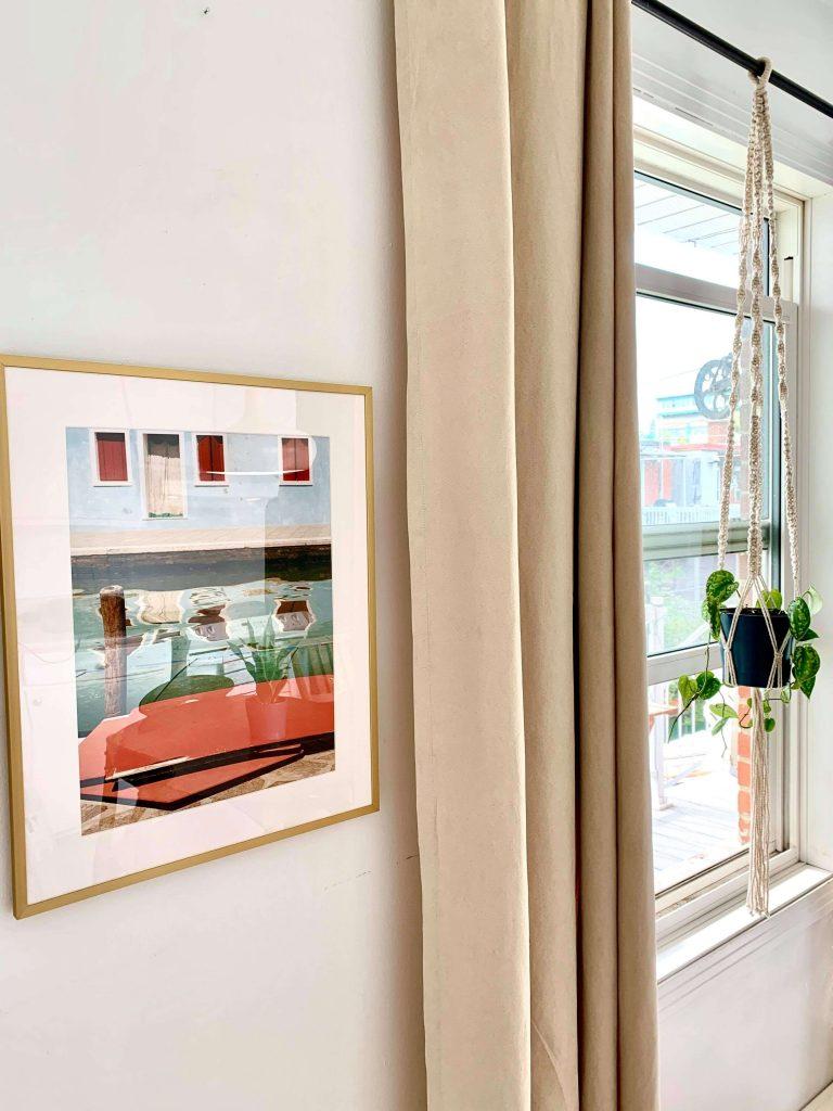 Fenêtre cuisine minimaliste