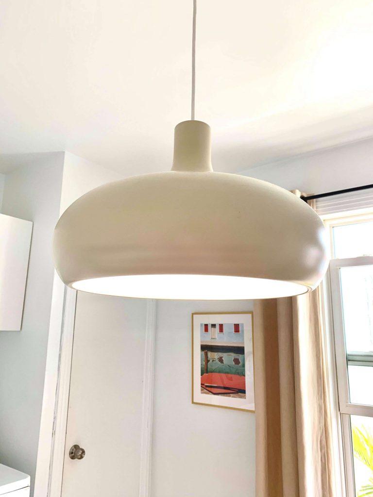 lampe cuisine minimaliste