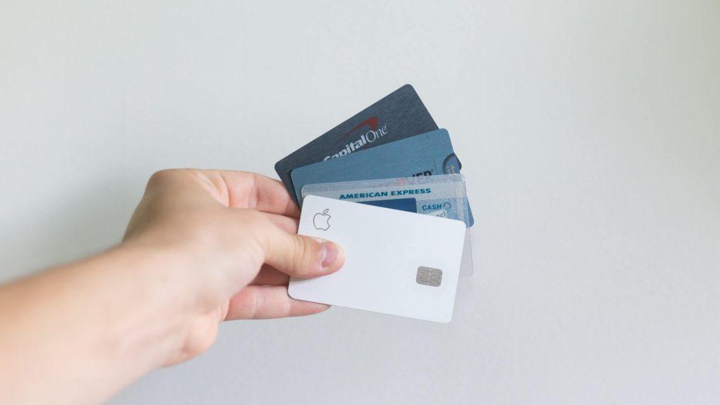 différentes cartes de crédits