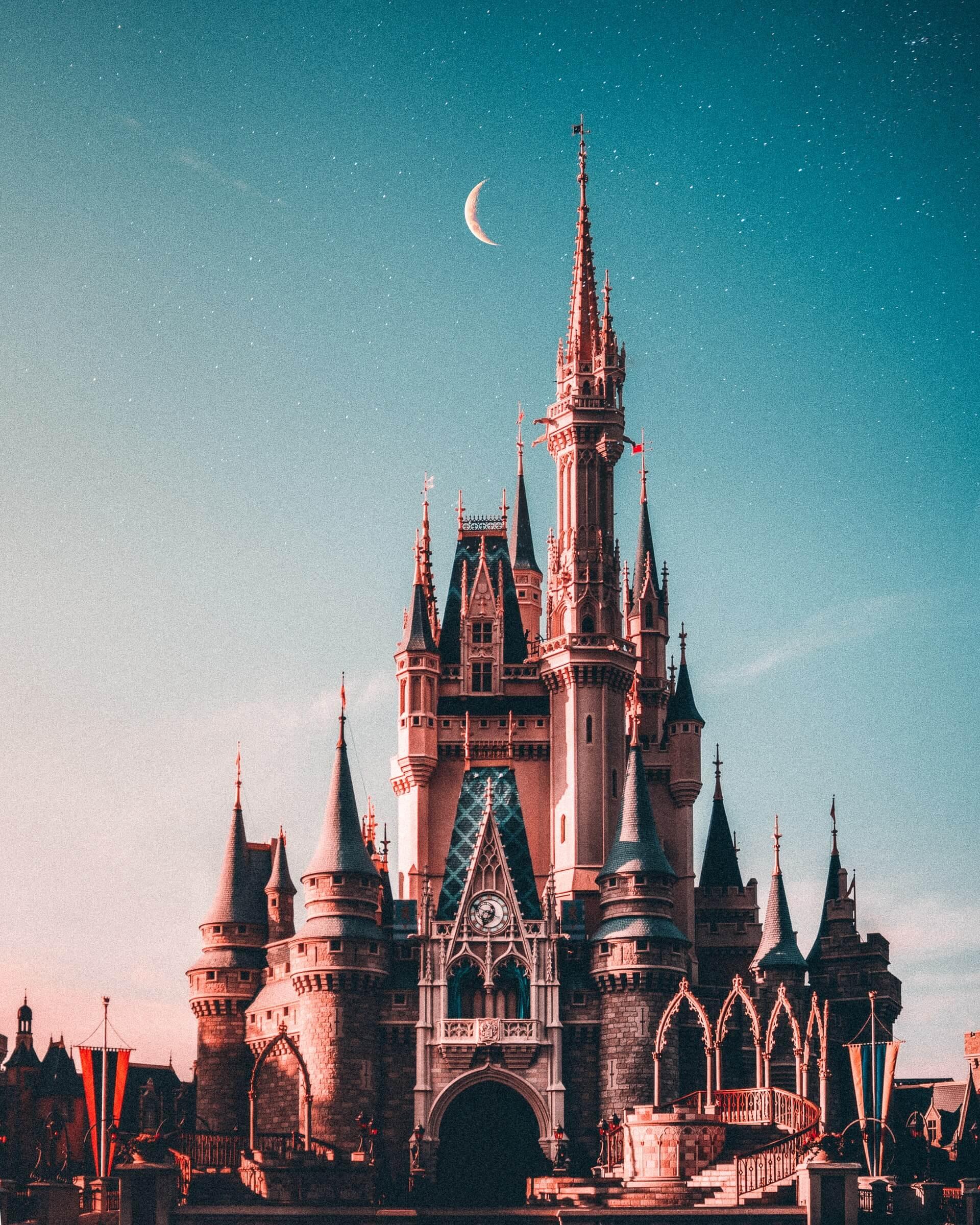chateau de walt disney