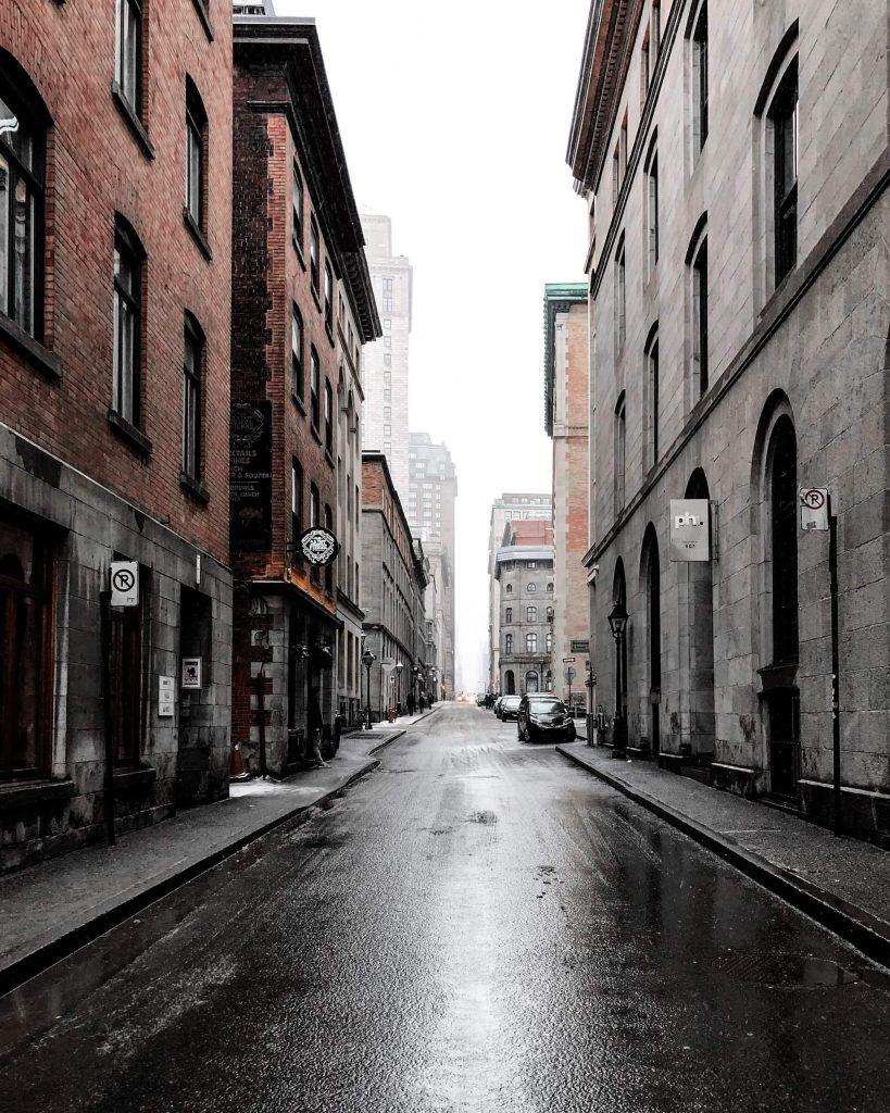 rue du vieux port de montréal