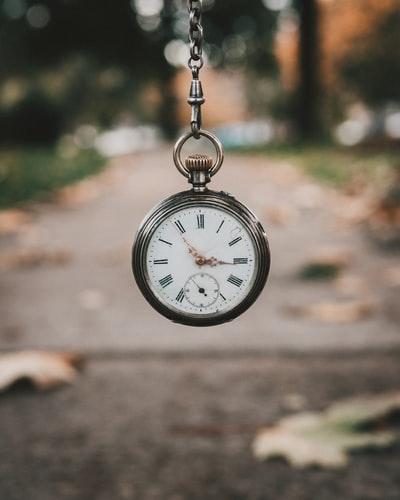 horloge, temps, dehors