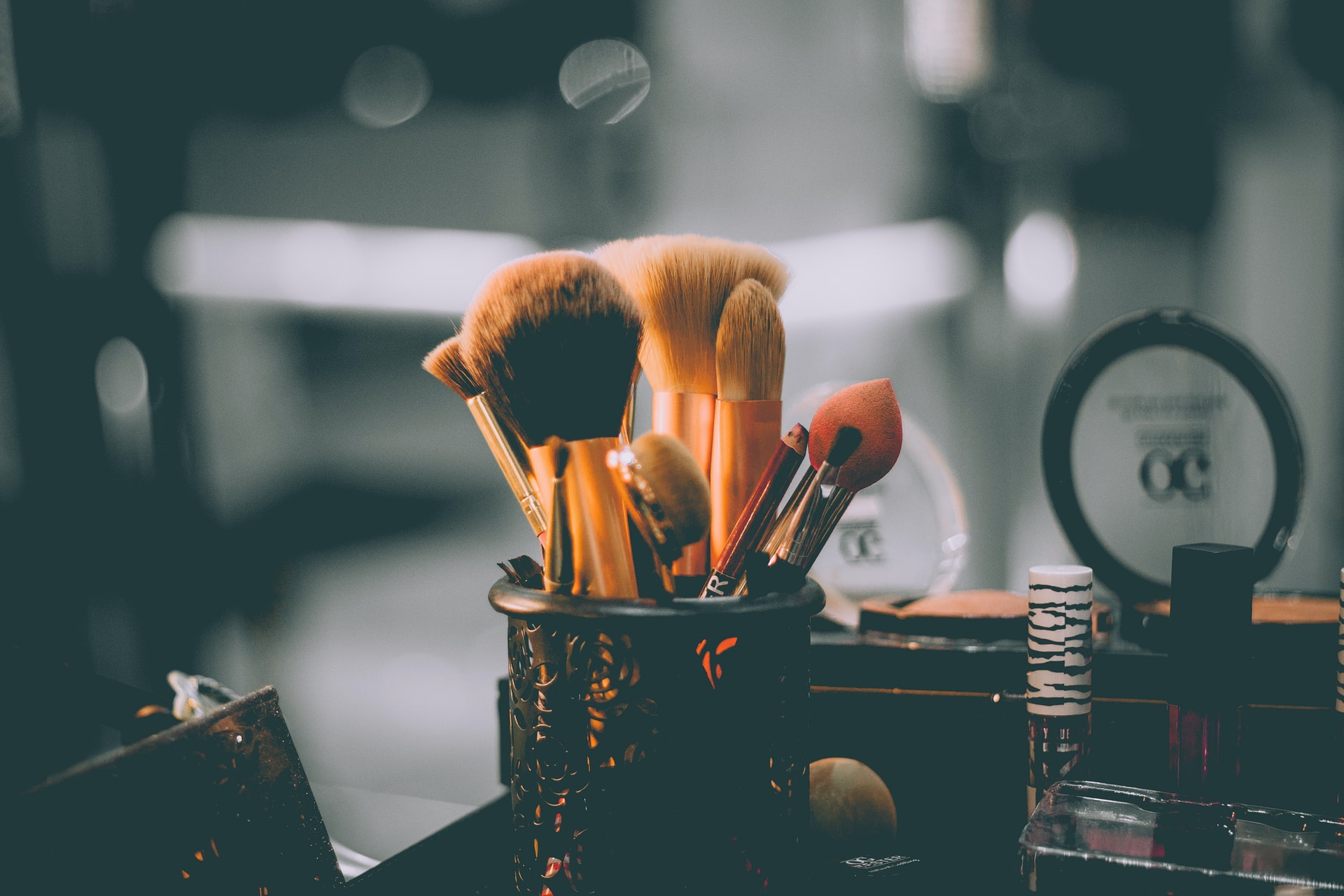 maquillage pinceaux