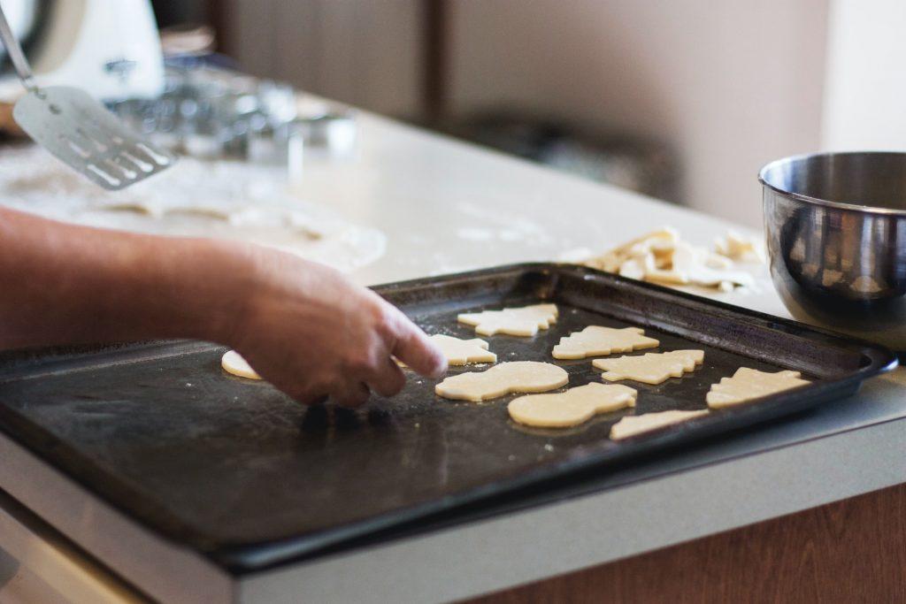 biscuits noël plaque