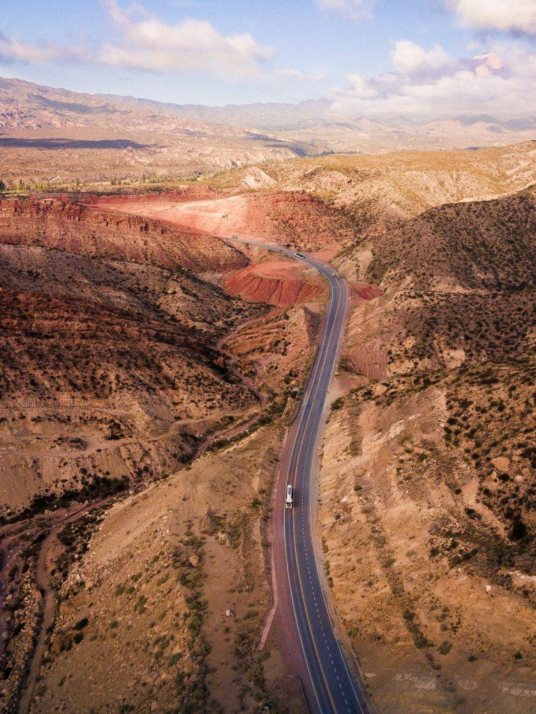route auto montagnes