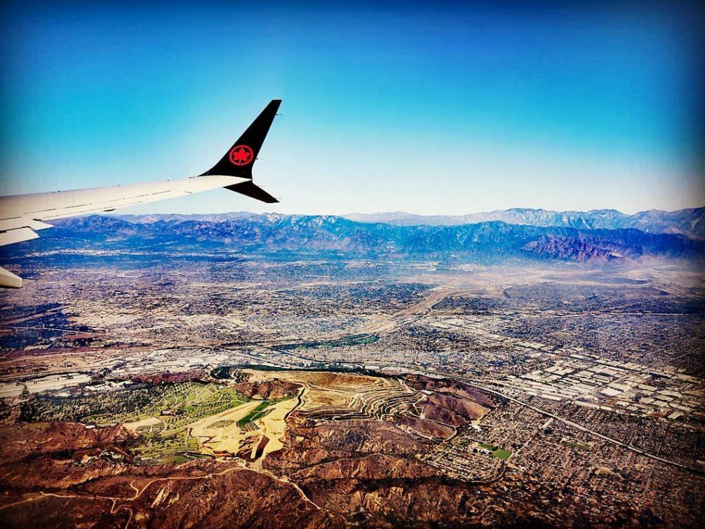 avion ciel voyage