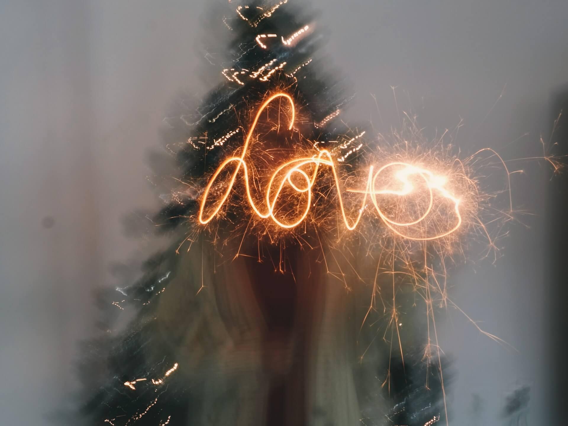 feux d'artifices love
