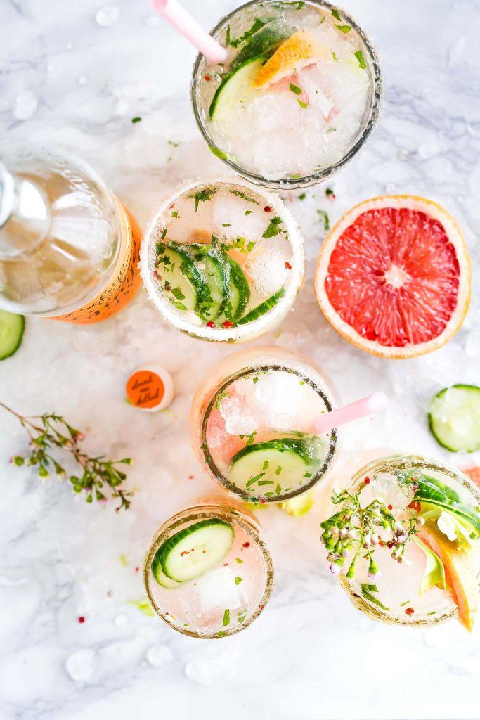 cocktail alcool blanc
