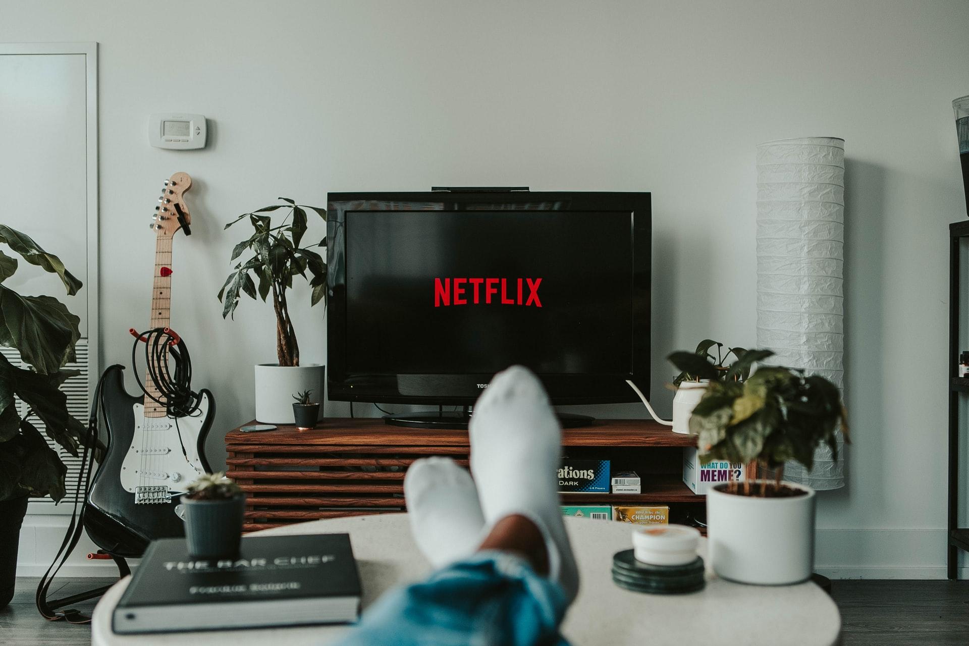 netflix télévision salon