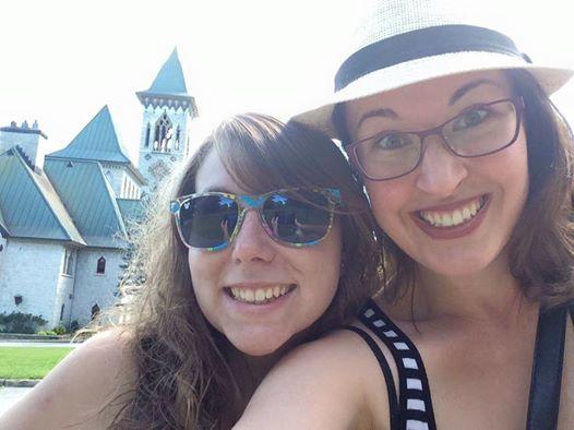selfie deux filles