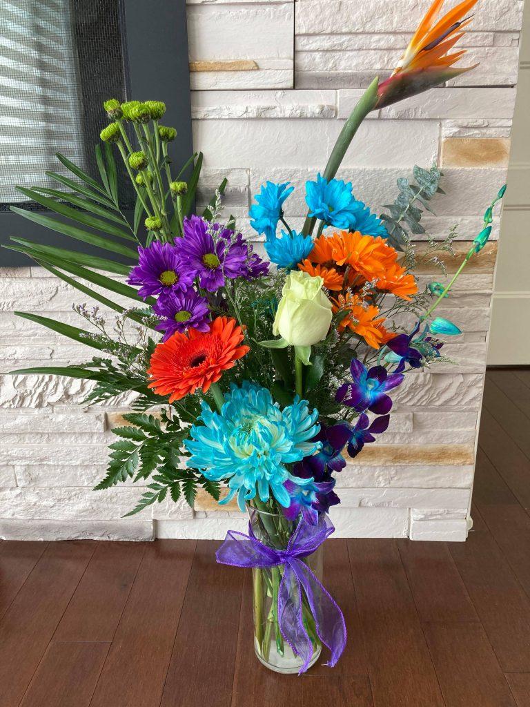 bouquet fleur couleur